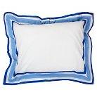 One Grace Place Simplicity Pillow Sham - Blue (Standard)
