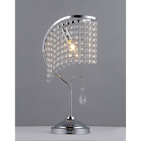 warehouse of tiffany table lamp silver target. Black Bedroom Furniture Sets. Home Design Ideas