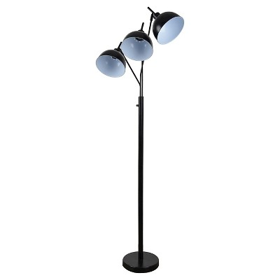 Room Essentials™ Elevated Multihead Floor Lamp Black