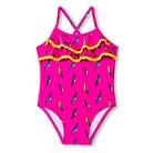Cr IG Parrot Suit Peppy Pink
