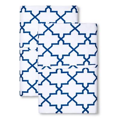 Sabrina Soto Calypso Hotel Pillowcase Set - Blue (Standard)