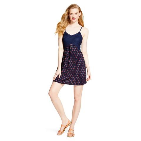 Crochet Knit Slip Dress - Xhilaration®