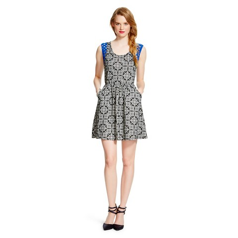 Lattice Trim Fit & Flare Dress - Xhilaration®