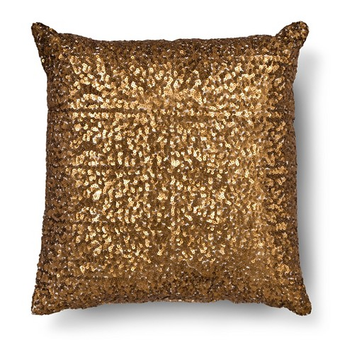Decorative Pillows With Sequins : Xhilaration All Over Sequin Decorative Pillow -... : Target