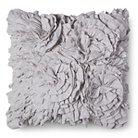 Jersey Ruffle Decorative Pillow - Gray (Square) - Xhilaration™