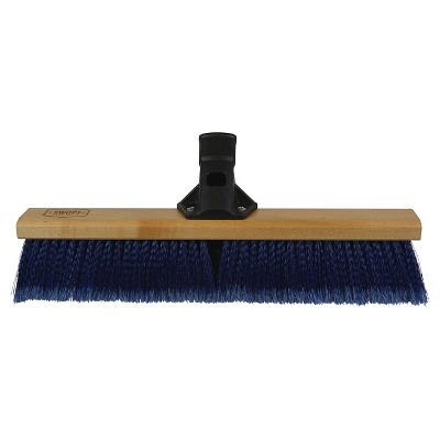 SWOPT Premium Push Broom, Multi-Surface, 18""