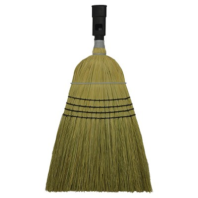 SWOPT Corn Broom, Multi-Surface