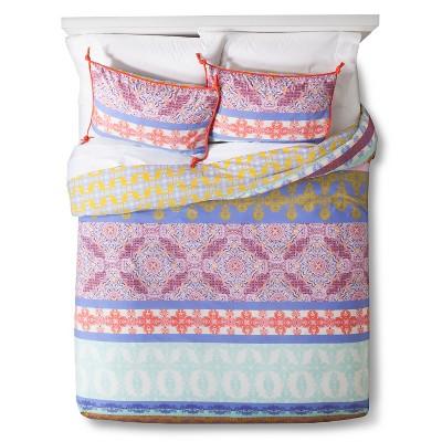 Ludivine Duvet Cover Set King Multicolor - Boho Boutique™