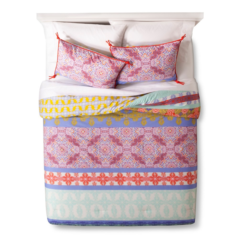 Boho Boutique Ludivine Comforter Set - Multicolor (Twin), Multicolored