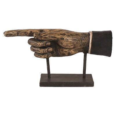 Decorative Figurine Resin - Black/Brown