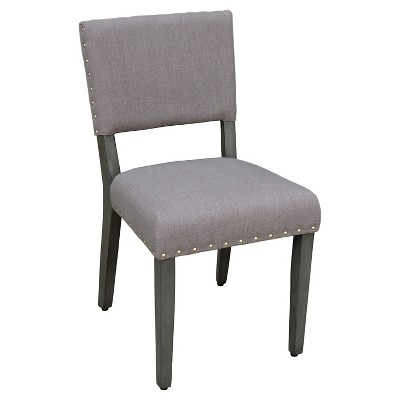 TH Open Bk Dining Chair 2pk Color 20  Taupe