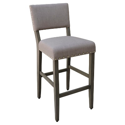 "29"" Open Back Barstool - Taupe Brown - Threshold™"