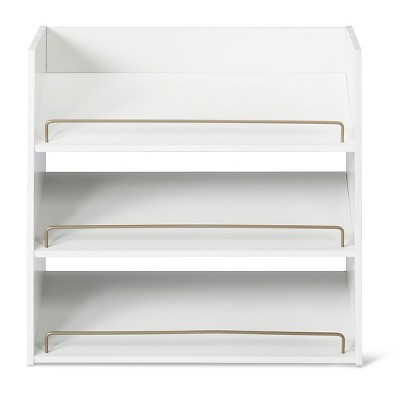 3-Shelf Stackable Shoe Rack - White - Room Essentials™