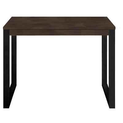 Parsons Desk Walnut/Black - Room Essentials™