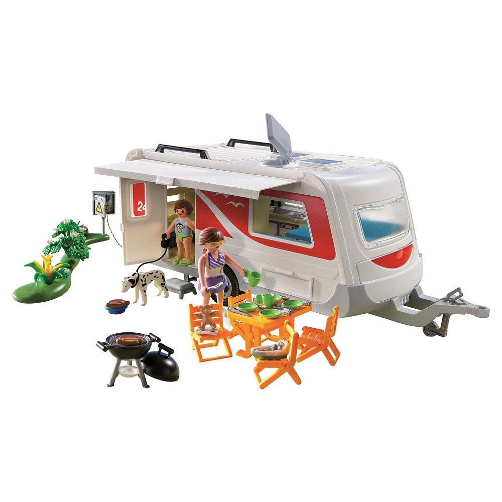 Playmobil Family Caravan, Toy Vehicle Playsets