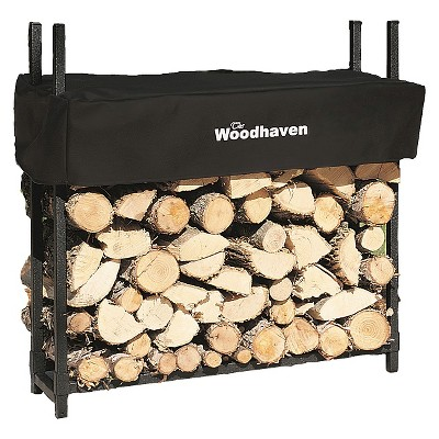 3' Woodhaven Firewood Rack and Cover