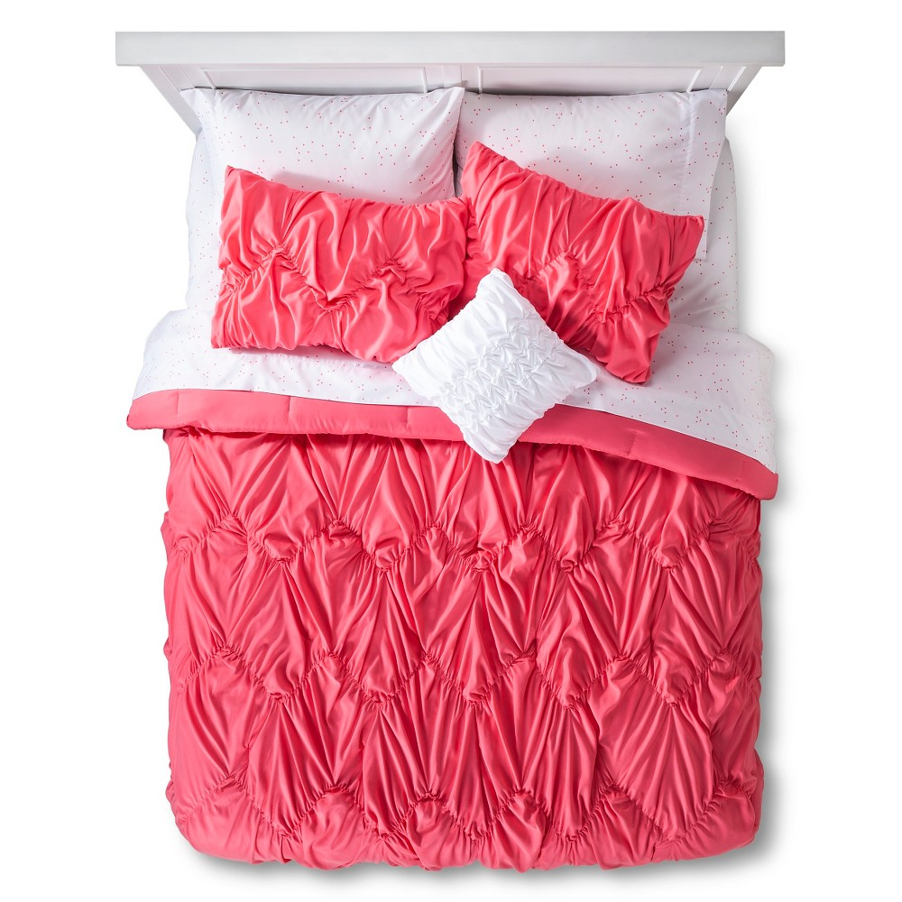 xhilaration chevron texture bed in a bag