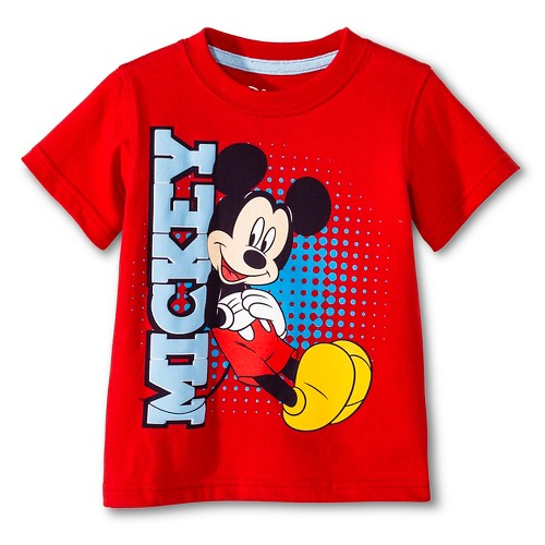 toddler boys 39 mickey mouse t shirt ebay. Black Bedroom Furniture Sets. Home Design Ideas
