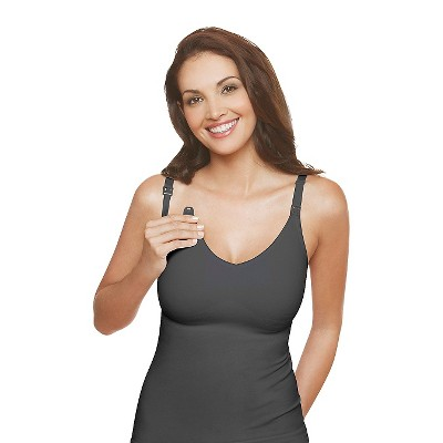 Medela Women's Slimming Nursing Cami Grey XL
