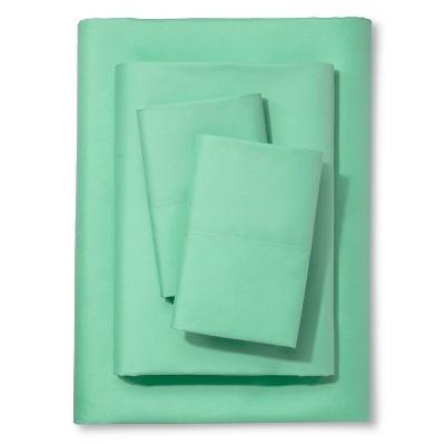 Xhilaration™ Solid Sheet Set - Mint (Queen)
