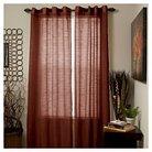 Yorkshire Home Mia Jacquard Grommet Curtain Panel