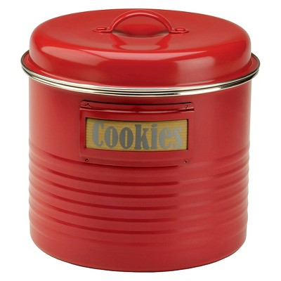 Typhoon Vintage Kitchen Storage Canister - Red (Large)
