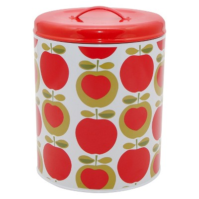Typhoon Apple Heart Biscuit Tin