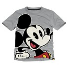 Disney® Mickey Mouse Toddler Boys' Tee - Dark Grey