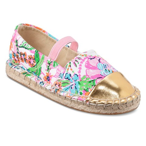 Lilly Pulitzer for Target Infant Toddler Girls' Espadrilles - Nosie Posey