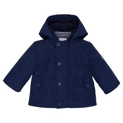 Chicco® Newborn Boys' Hooded Jacket - Navy 0-3 M