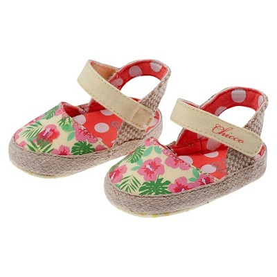 Chicco® Newborn Girls' Floral Sandal - Beige 1