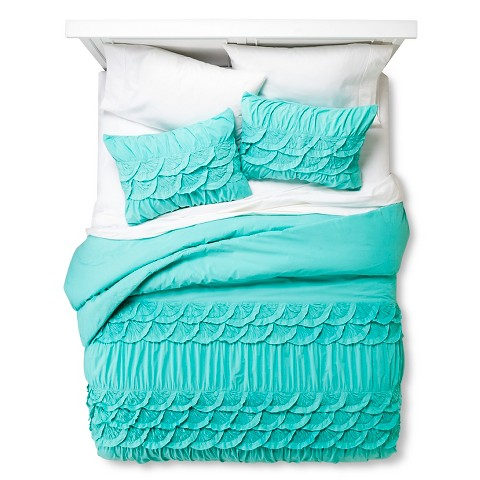 Boho Boutique 174 Texture Comforter Set Teal Target