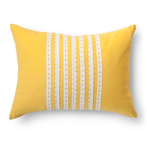 Target Throw Pillows Yellow : Brooklyn & Bond Decorative Pillow - Yellow (16