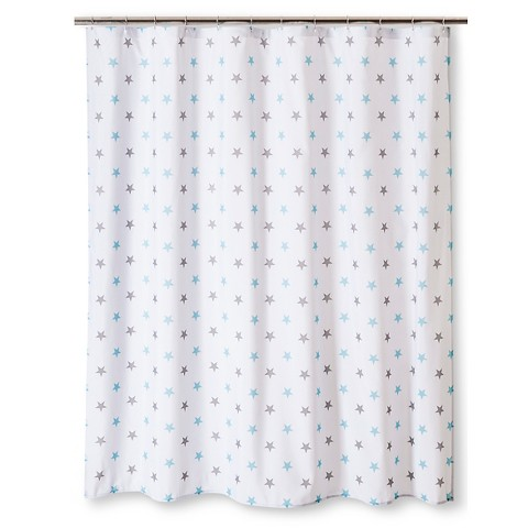 Circo Microstar Shower Curtain Winter White T Target