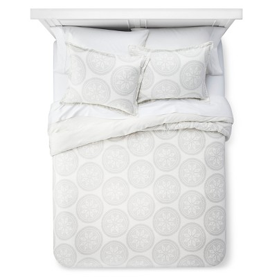 Ecom Threshold Duvet Cover Set K SOUR C