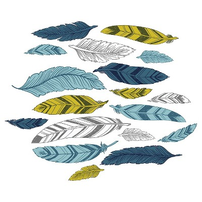 Decal - Decorative Feathers