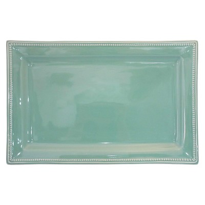 Threshold™ Camden Large Rectangular Platter - Teal