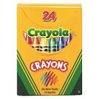 Crayola® Classic Color Pack Crayons, Tuck Box, 24/Box
