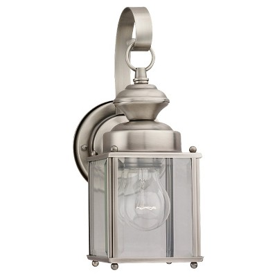Sea Gull 1 Light Outdoor Wall Lantern - Antique Brushed Nickel