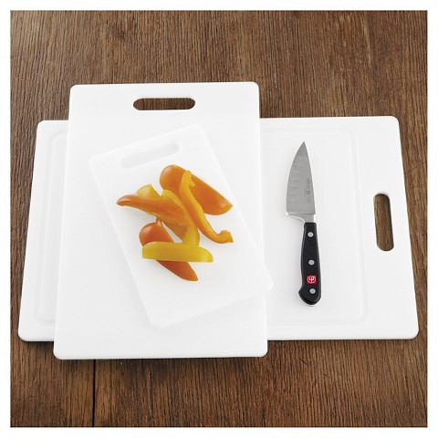 Chefs Professional Cutting Boards Set Of 3