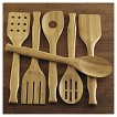 CHEFS 6 Piece Bamboo Cooking Utensil Set