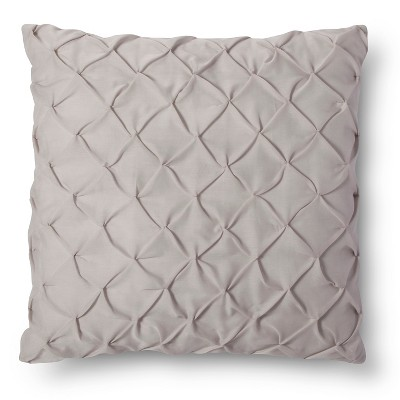 Twist & Tuck Decorative Pillow - Gray (Euro) - Xhilaration™