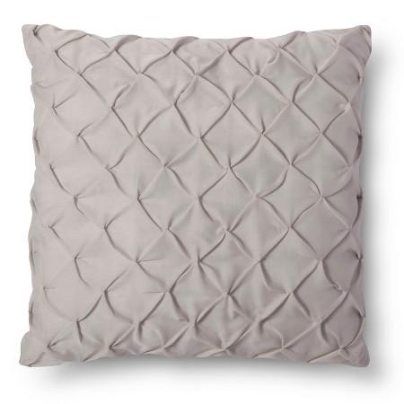 Grey Throw Pillow Target : Twist & Tuck Decorative Pillow - Gray (Euro) - Xhilaration : Target