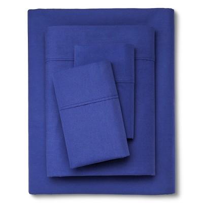300 Thread Count Organic Sheet Set - Blue (Queen) Threshold™