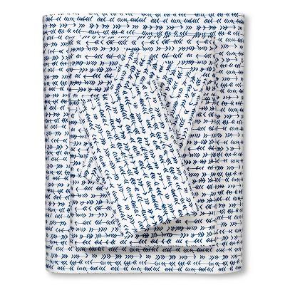 Sabrina Soto Havana Sheet Set - Blue (Full)
