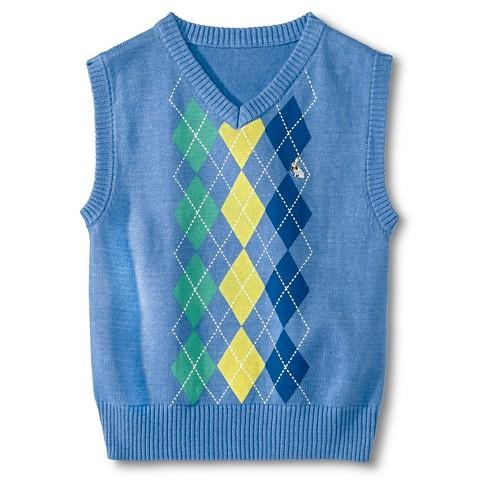Boys Argyle Sweater Vests