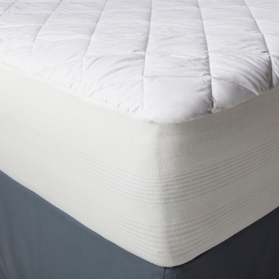 Threshold™ Waterproof Mattress Pad - White (Queen)