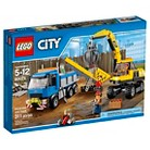 LEGO® City Arctic Excavator and Truck 60075