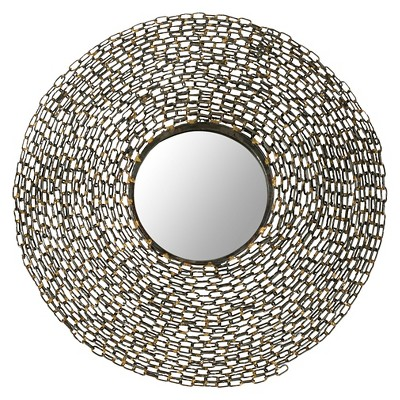 Safavieh Gold Sunburst Wall Mirror