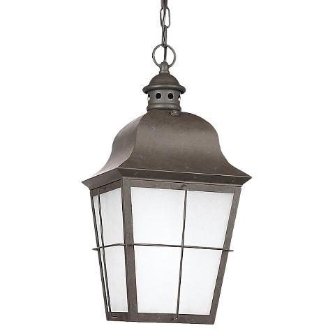 Aurora 1 light outdoor pendant product details page